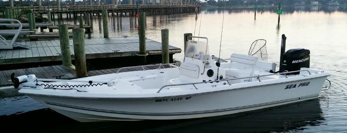 Sea Pro Bay Boat